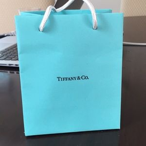 Small Tiffany shopping bag